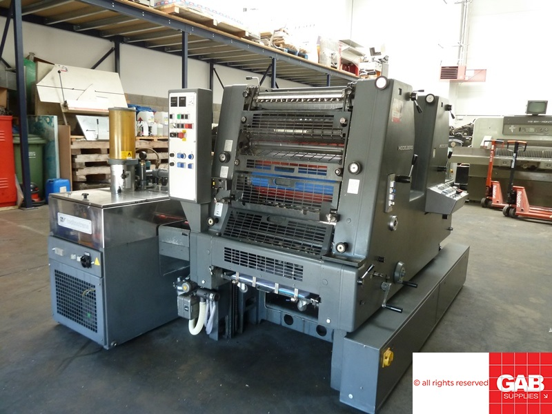 refurbished Heidelberg GTO ZP 52 with alcolor dampening