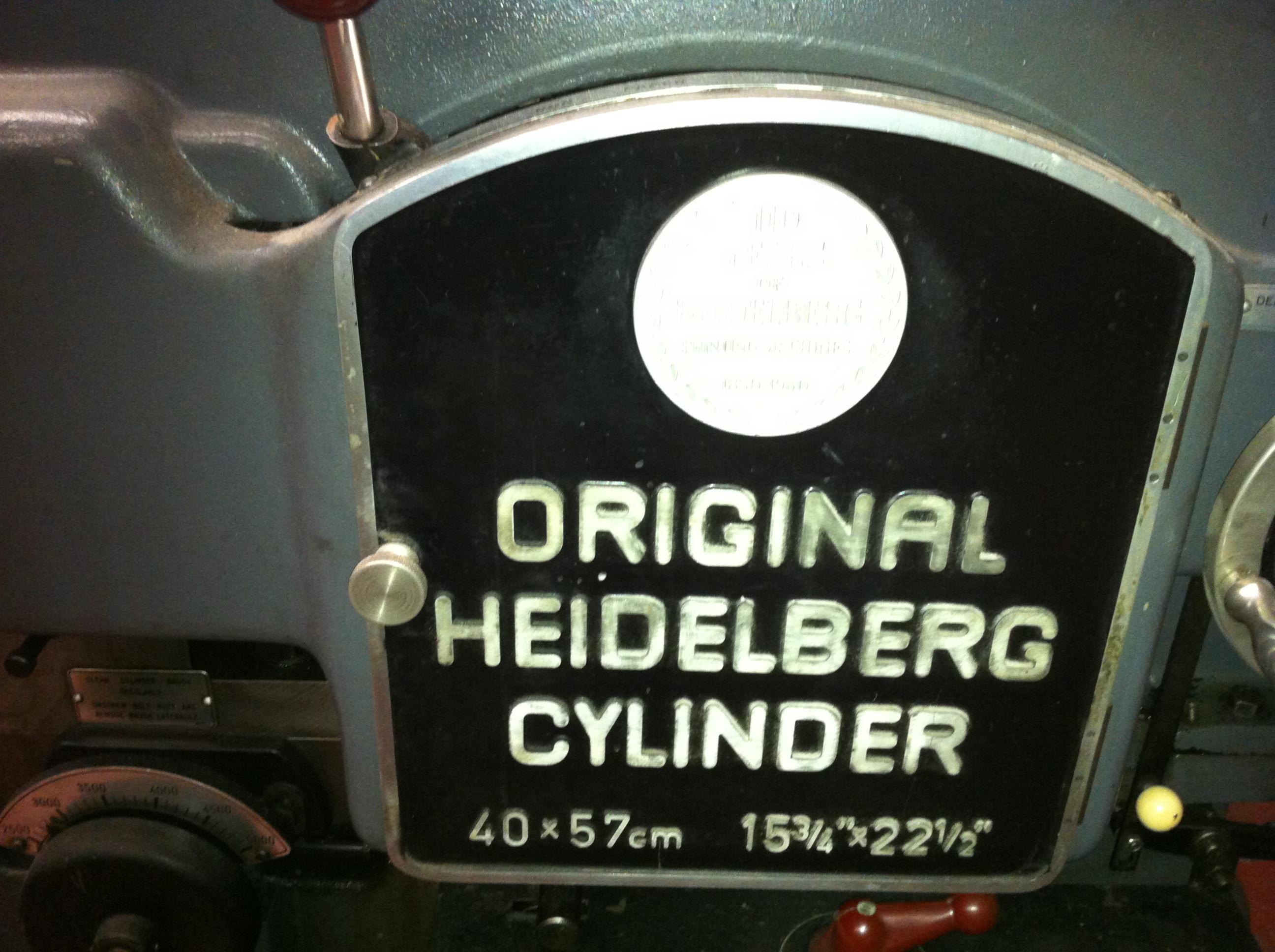 HEIDELBERG KSB CYLINDER
