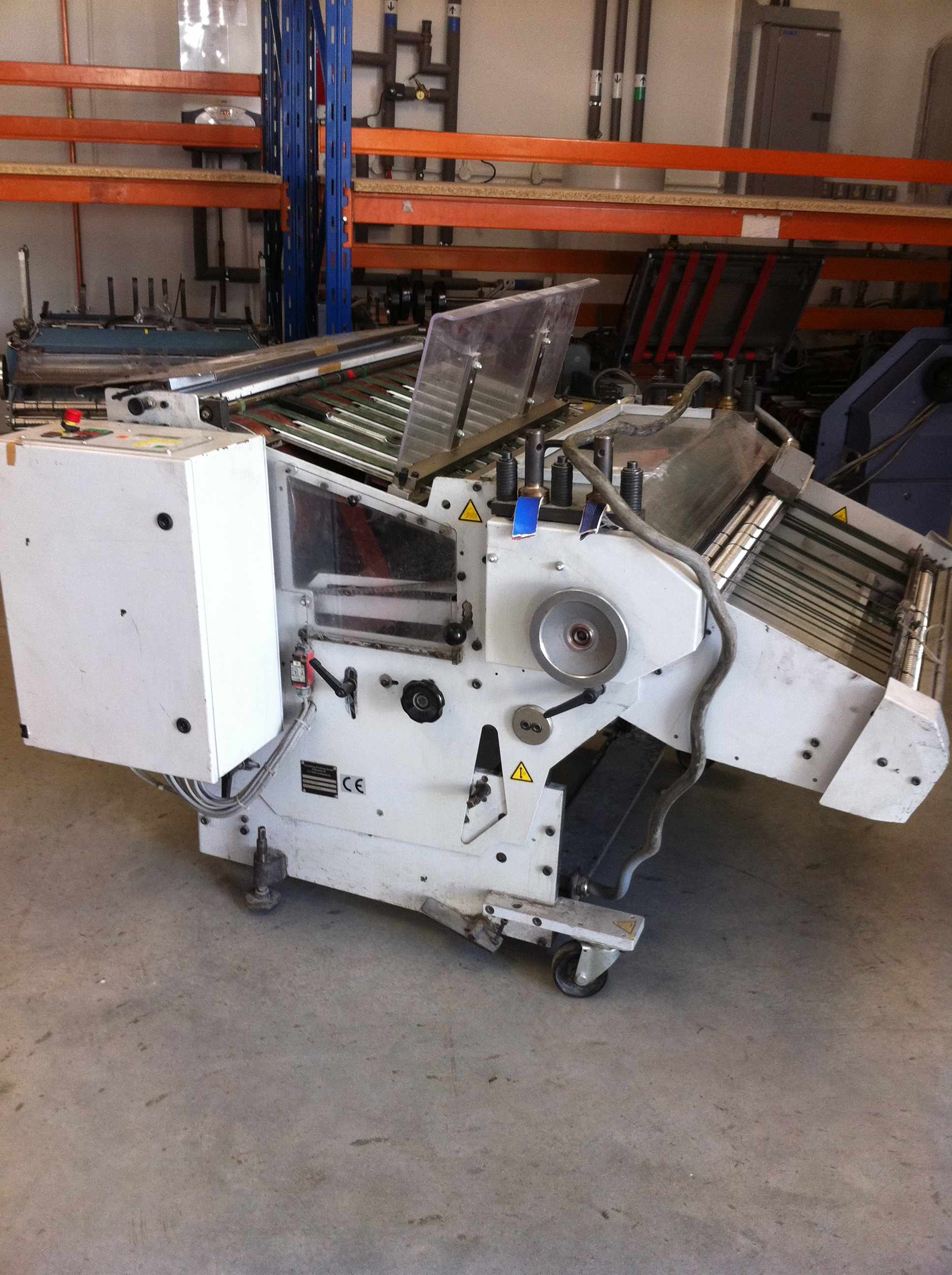STAHL VSA 86 STACKER DELIVERY