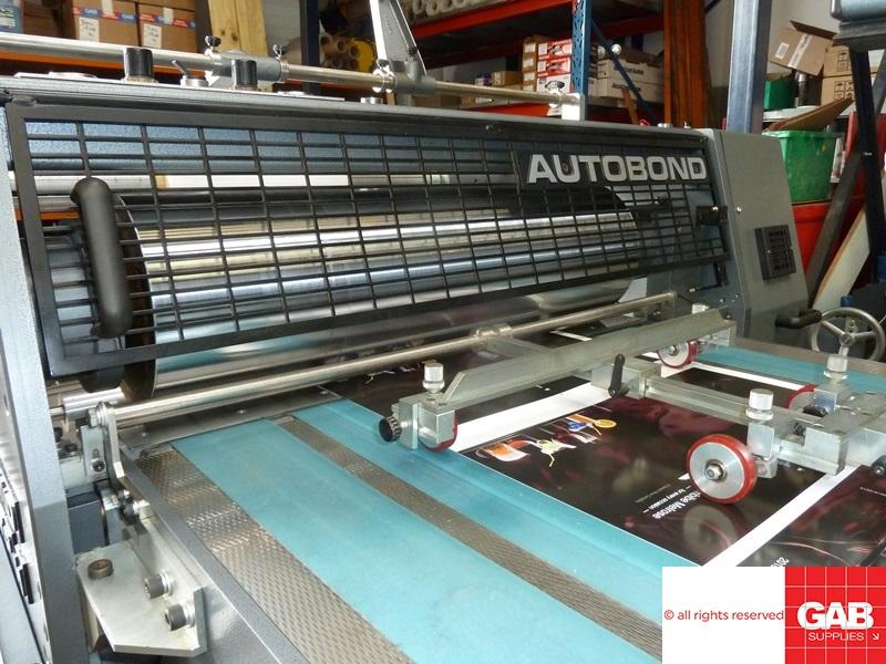 2005 Autobond Mini TPH 76 x 102 Double Sided Laminator