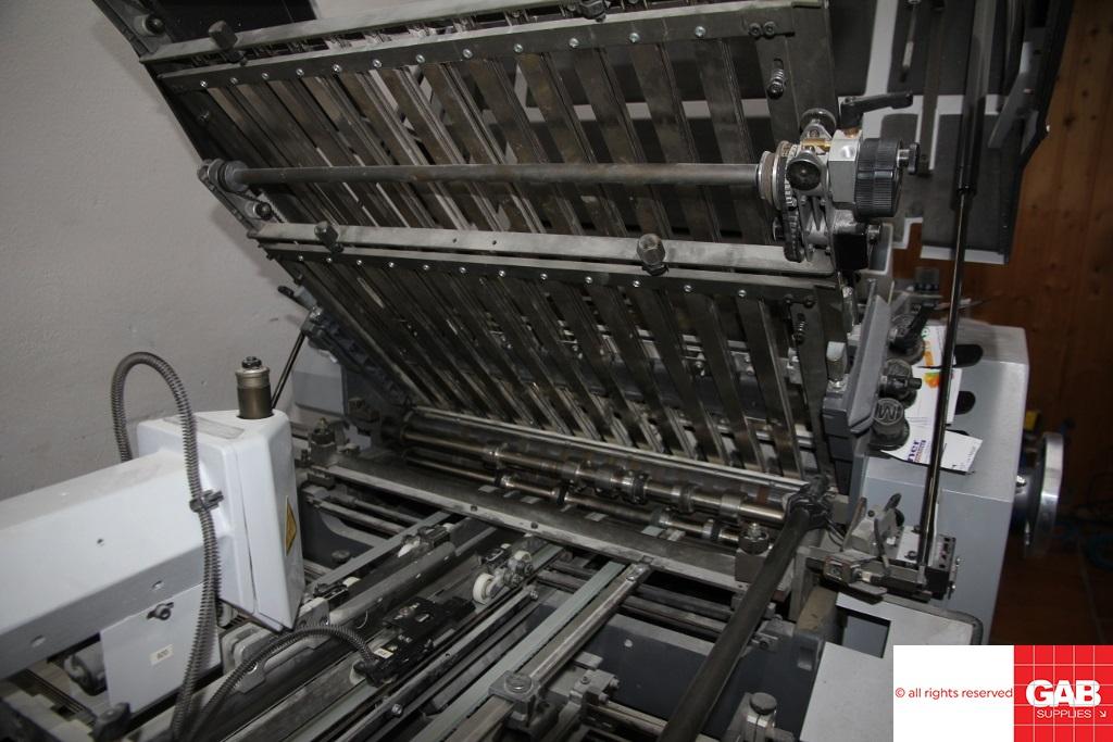 HEIDELBERG STAHLFOLDER KI 55/4-KTL FOLDING MACHINE