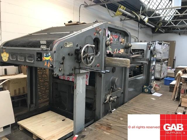BOBST AUTOPLATINE SP1080-180T DIE CUTTER
