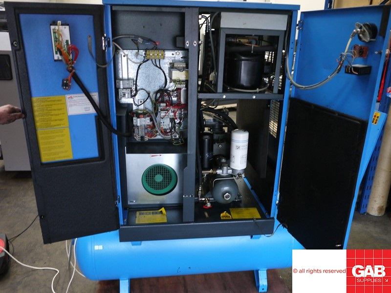 Rotary Screw Compressor with Dryer 5.5 kw - Worthington Rollair 750T