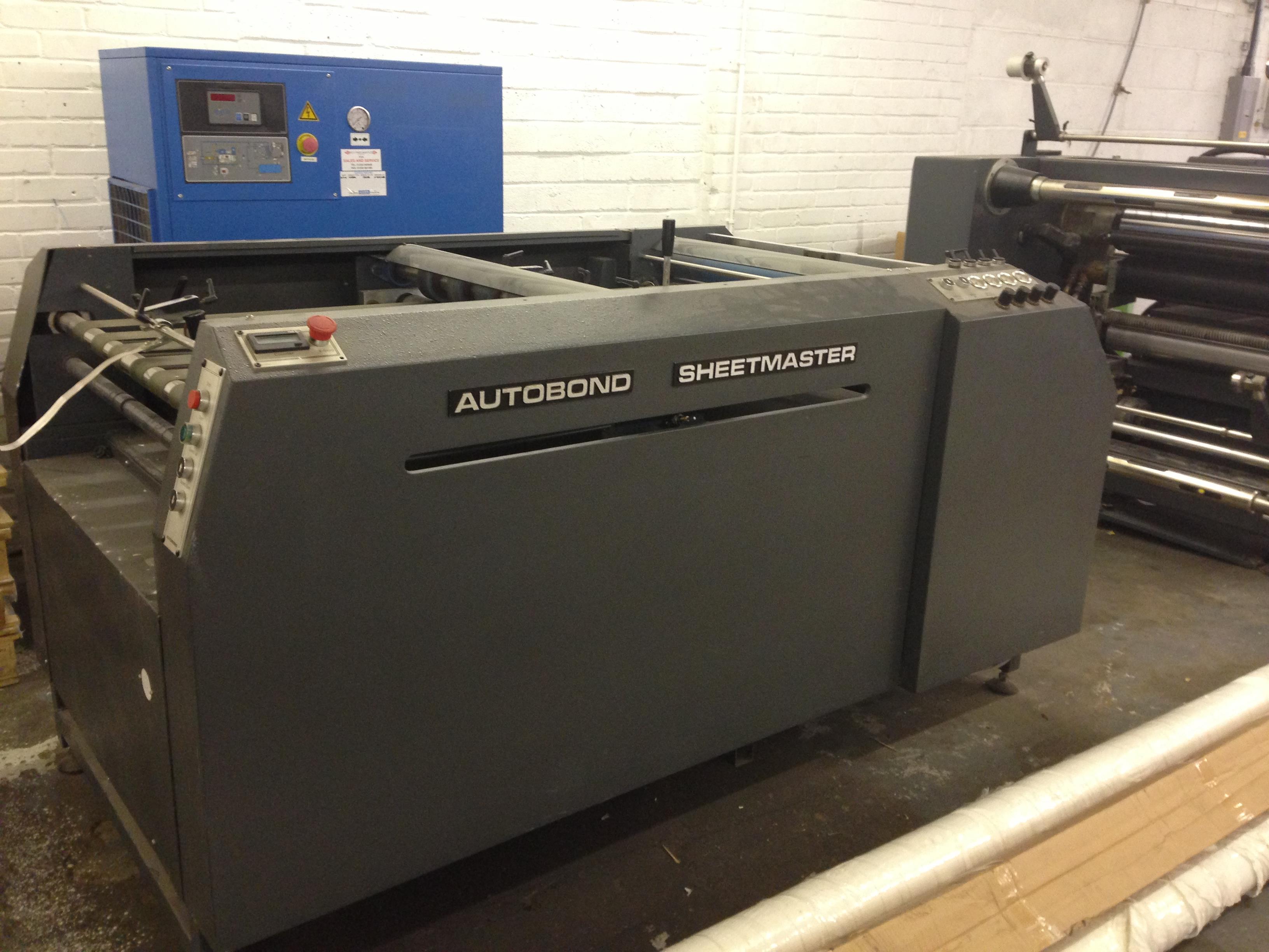 AUTOBOND LAMINATOR - SHEETMASTER 102