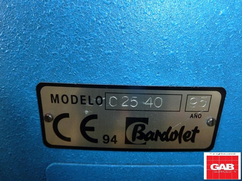 BARDOLET C-25/40 WIRE STITCHER