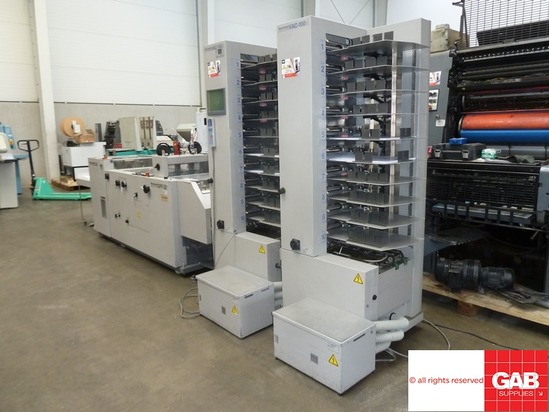 horizon spf-20 booklet maker with 20 stations