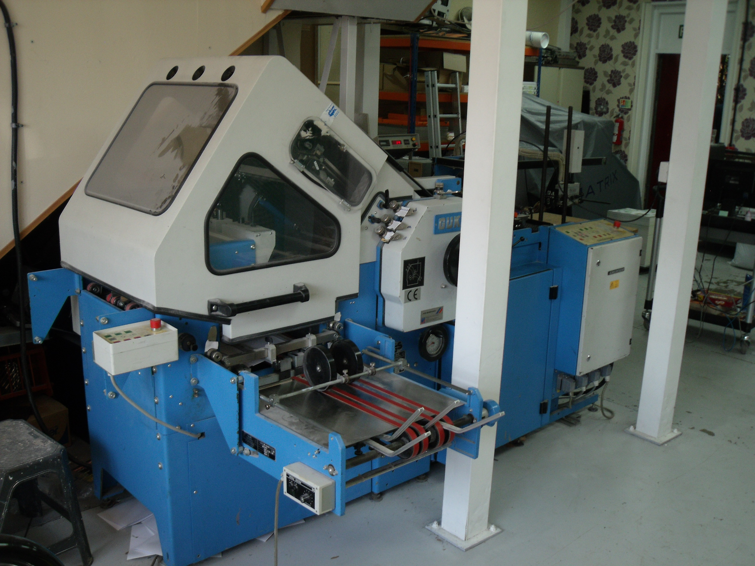 USED GUK K49-4 PAPER FOLDING MACHINE