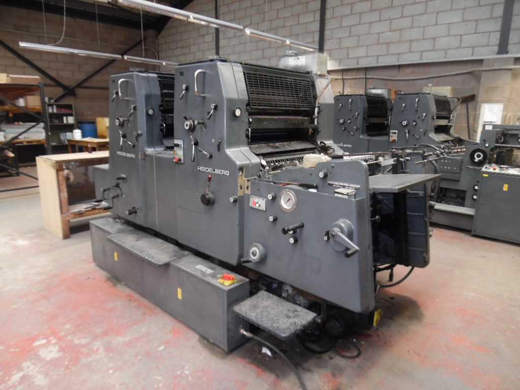 Heidelberg single colour printing machine