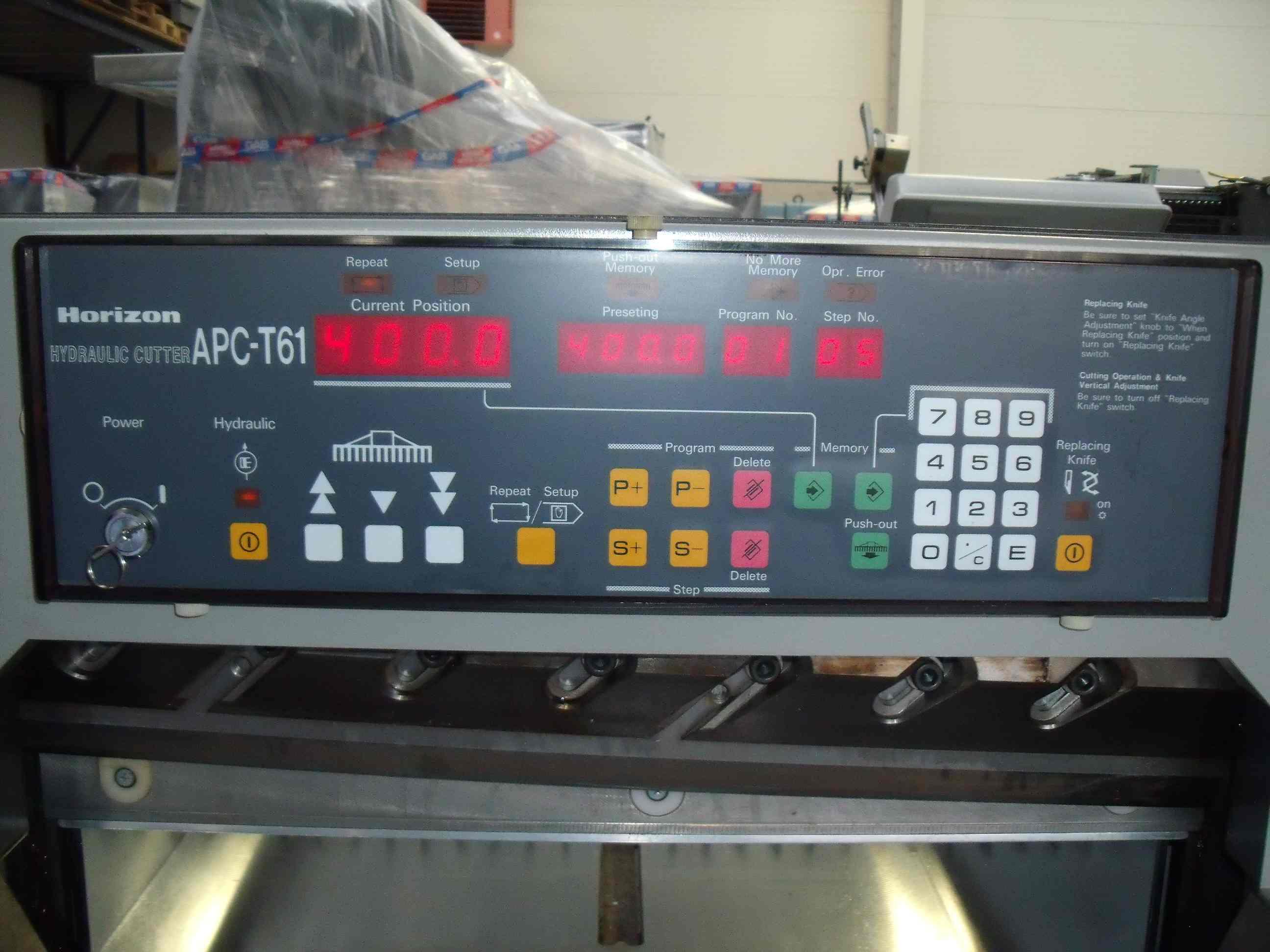 HORIZON APC T61 GUILLOTINE