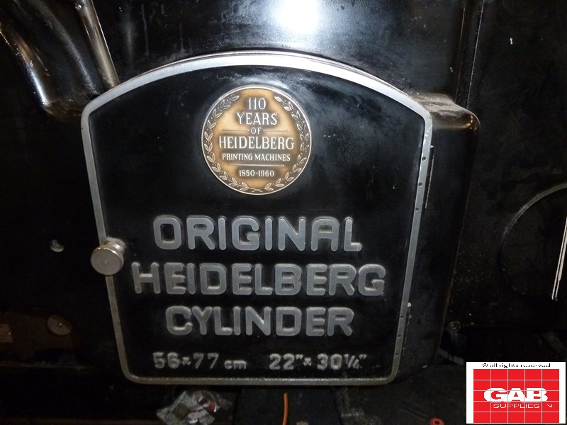 Original Heidelberg SBG Cylinder