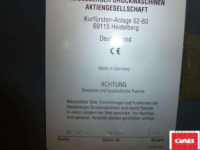 HEIDELBERG SM 52-2 COLOUR OFFSET