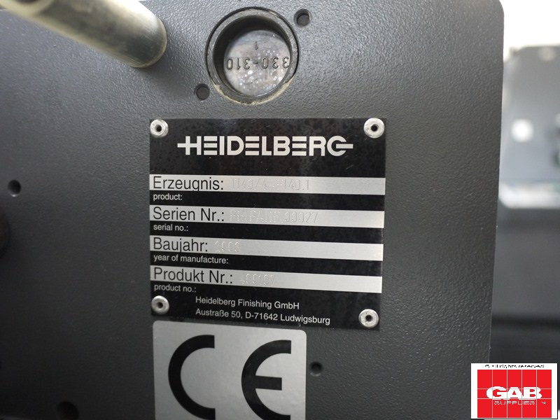 Heidelberg Stahl TI 40/4 Pharma Folder