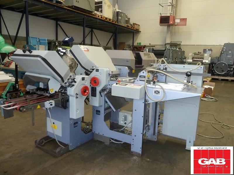 STAHL TI 36 4-4 PHARMA PAPER FOLDING MACHINE