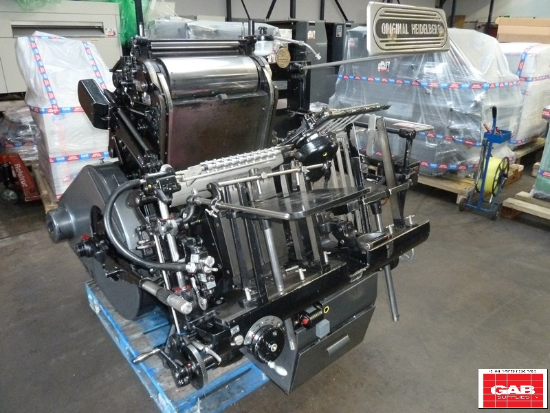 Heidelberg 13 x 18 GT Platen
