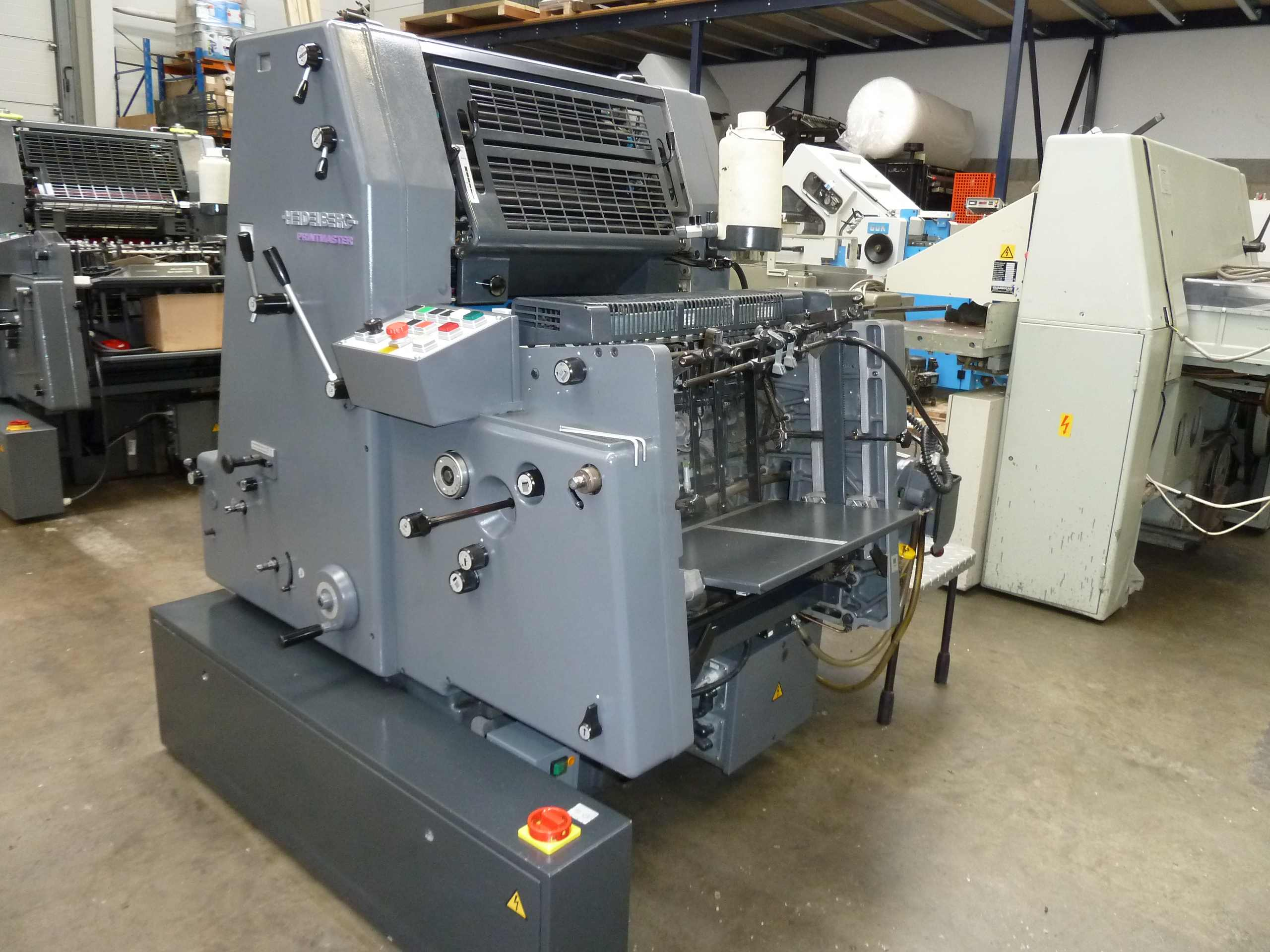 HEIDELBERG GTO 52 ONE COLOUR OFFSET