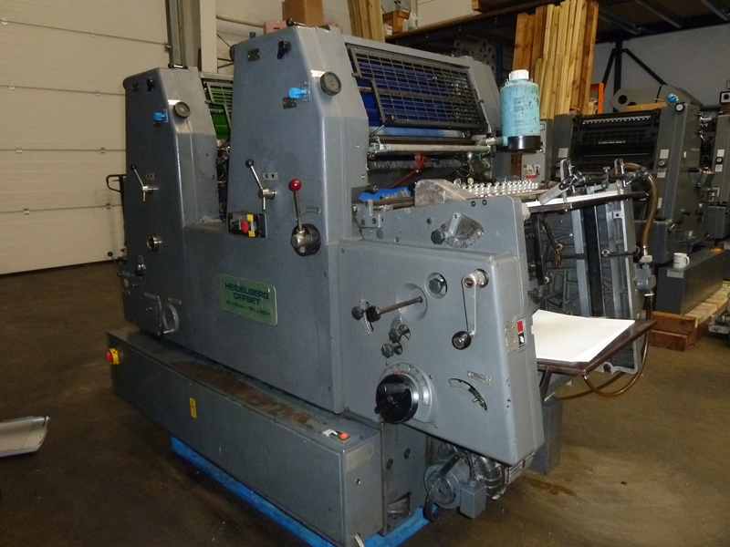 USED HEIDELBERG GTOZ 52 TWO COLOUR OFFSET
