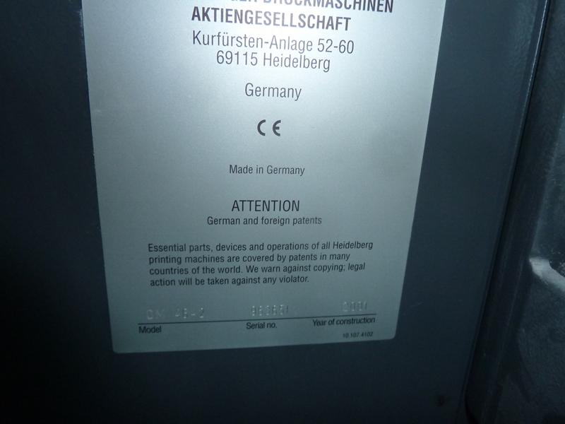 HEIDELBERG QM 46-2 TWO COLOUR OFFSET