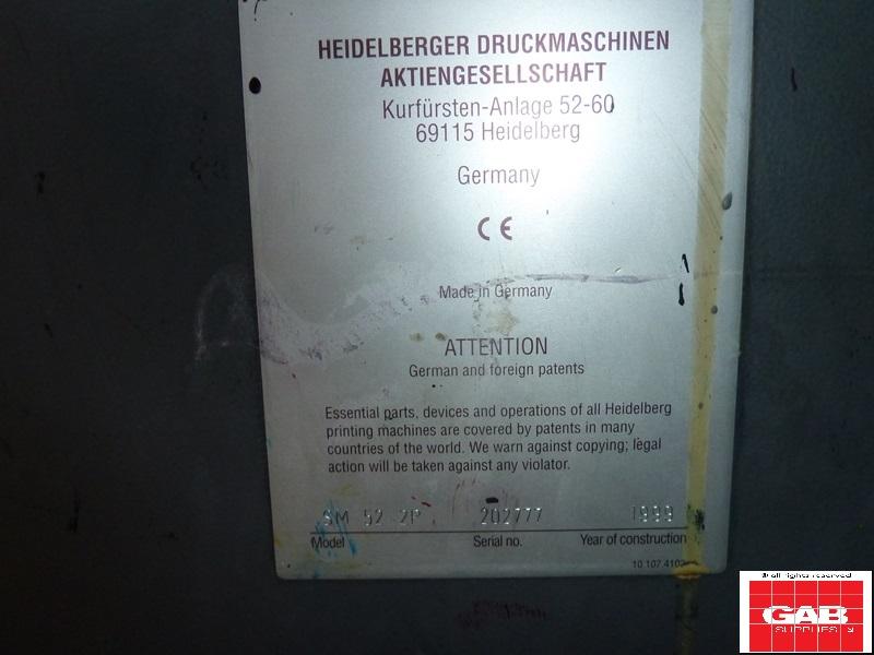 HEIDELBERG SPEEDMASTER SM 52-2 COLOUR