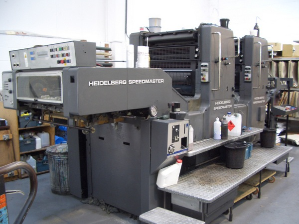 HEIDELBERG SM 72 ZP TWO COLOUR OFFSET