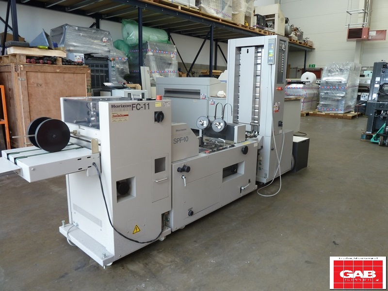 HORIZON MC-80 BOOKLET MAKER WITH SPF 10