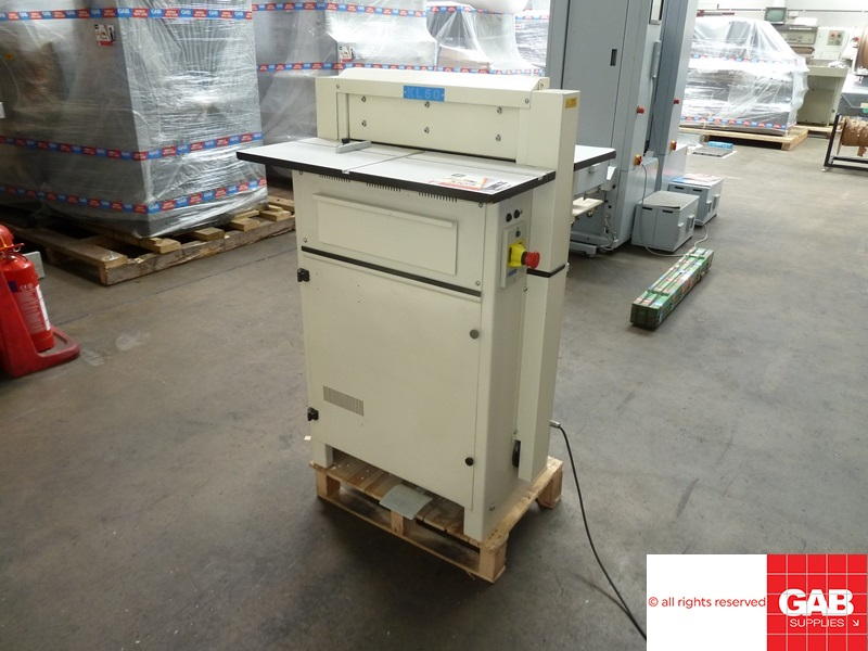 James Burn KL-50 wide format wire & calendar punching machine