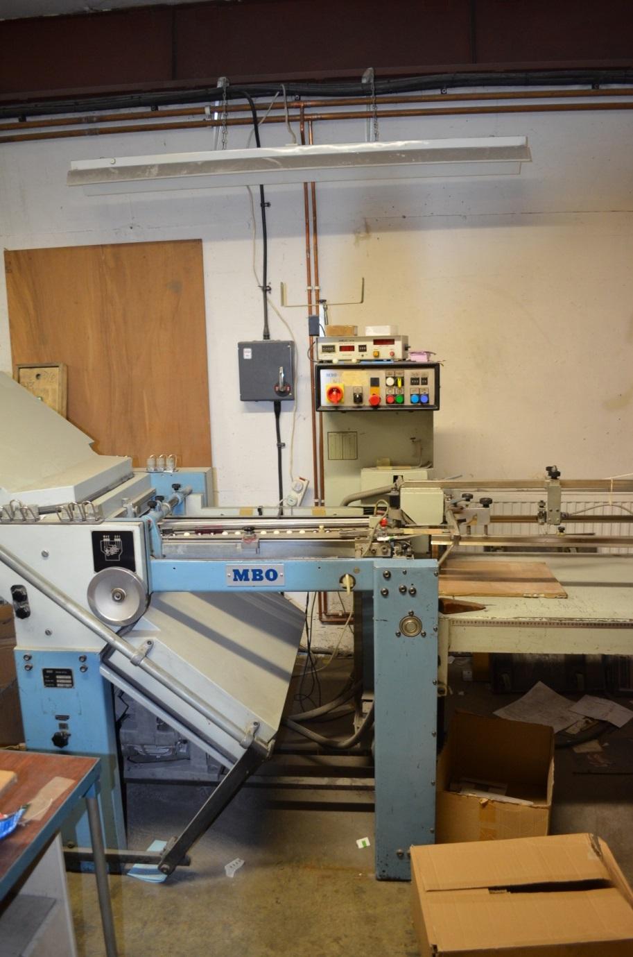 MBO T 49 4-4-X FOLDING MACHINE