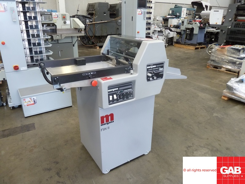 [name_1] used morgana fsn ii rotary numbering and perforating machine