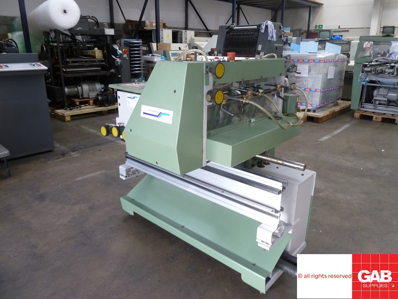muller martini type 1528 cover feeder for sale
