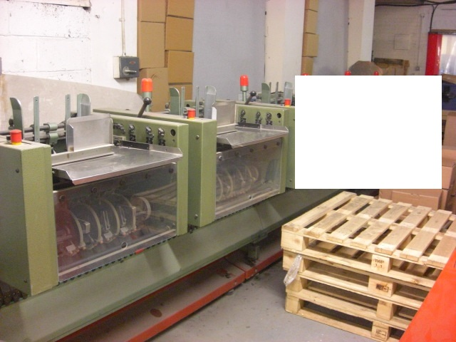 MULLER MARTINI 321 SADDLE STITCHING LINE