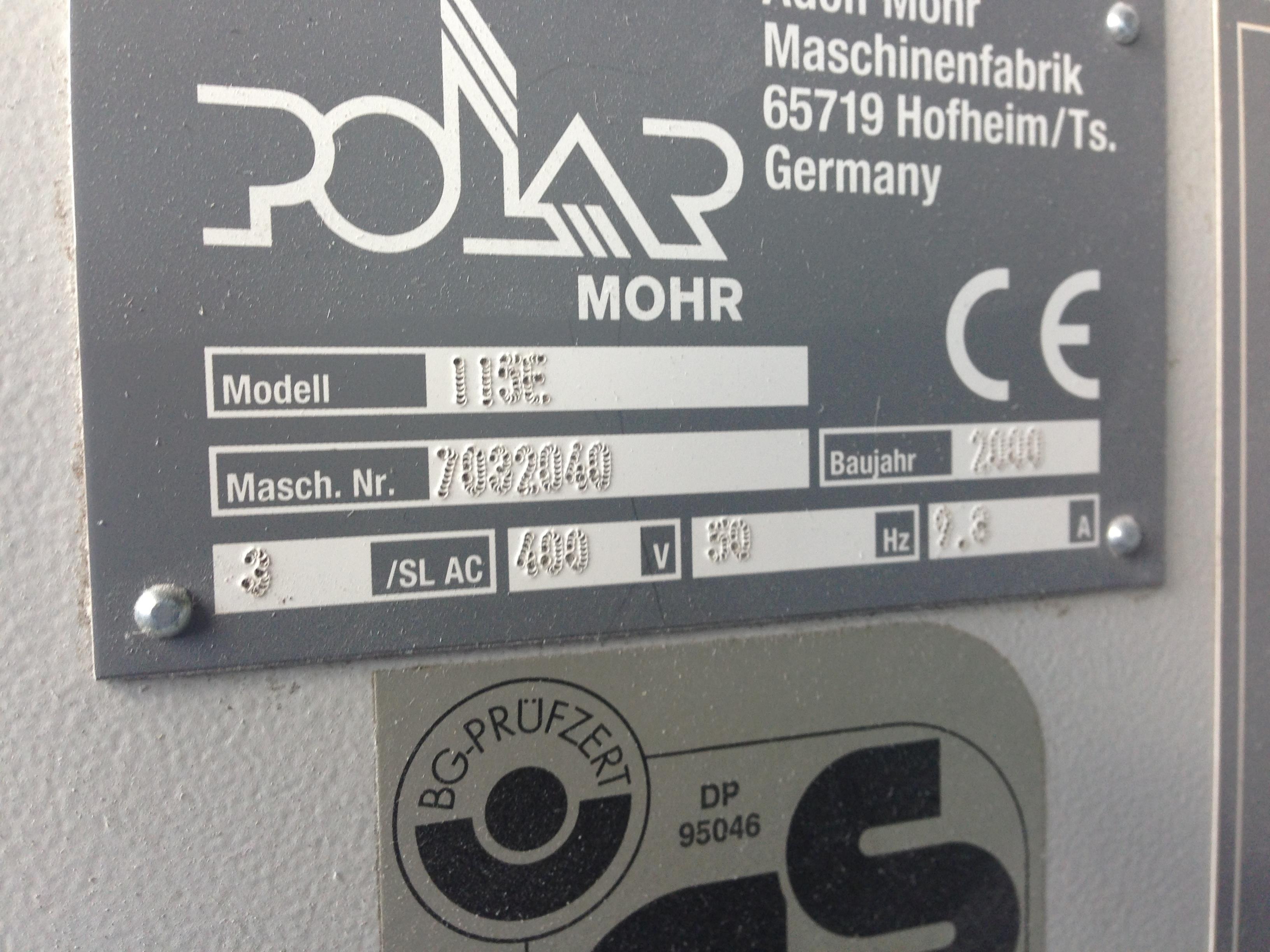 POLAR 115 E GUILLOTINE