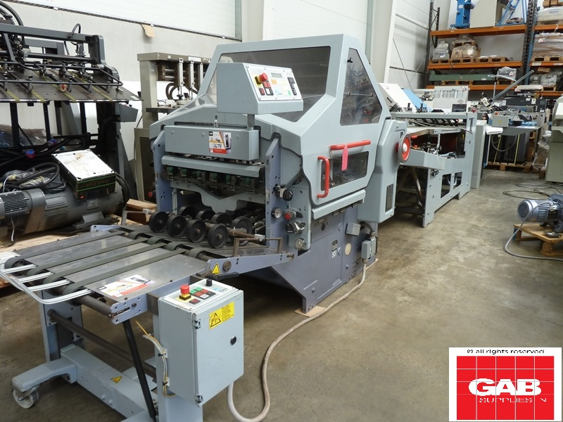 STAHL KD 66 4KTL PAPER FOLDING MACHINE