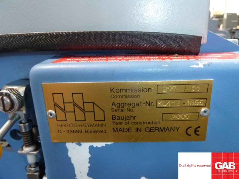 H&H KL112-6 PHARMACEUTICAL FOLDER