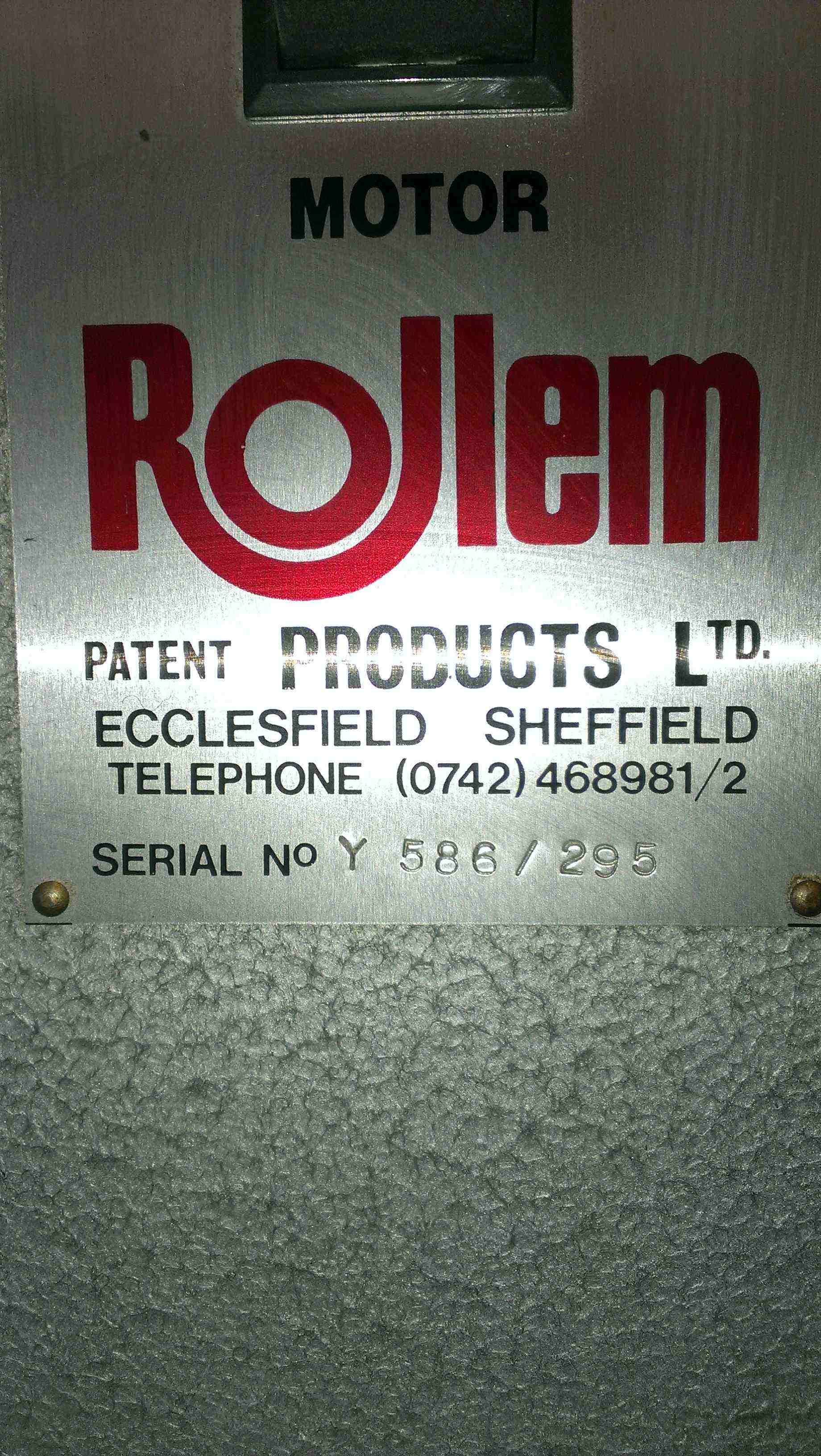 ROLLEM AUTO IV NUMBERING & PERFORATING MACHINE
