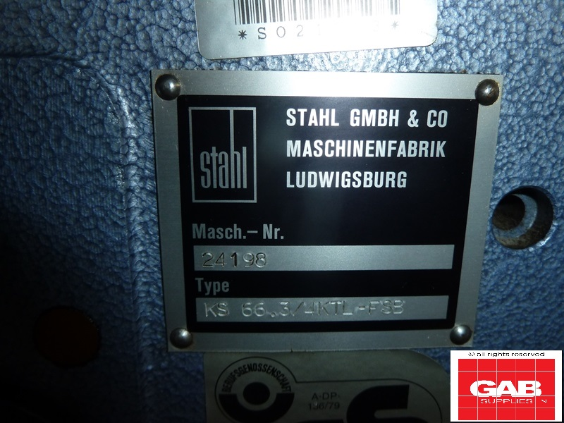 used stahl k66 4ktl paper folding machine