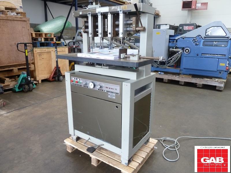Iram 16 paper drilling machine