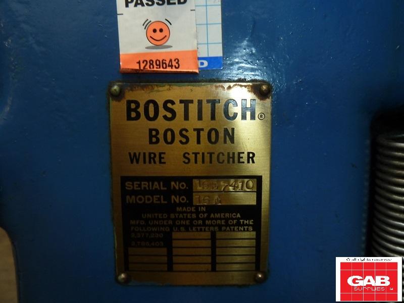 Bostitch 16E Twin Head Wire Stitching Machine