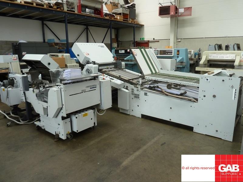 Heidelberg STAHL TD 78 6-4-X paper folder
