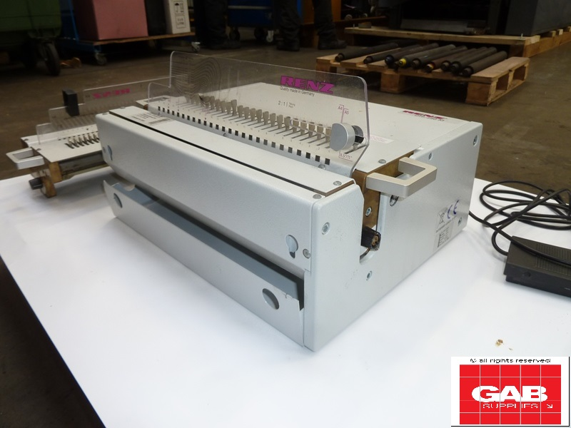 renz dtp 340m wire-o-punch