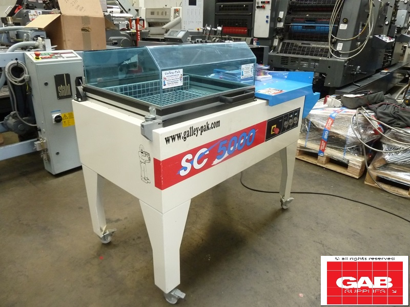 Galley Pak shrink wrapping machine