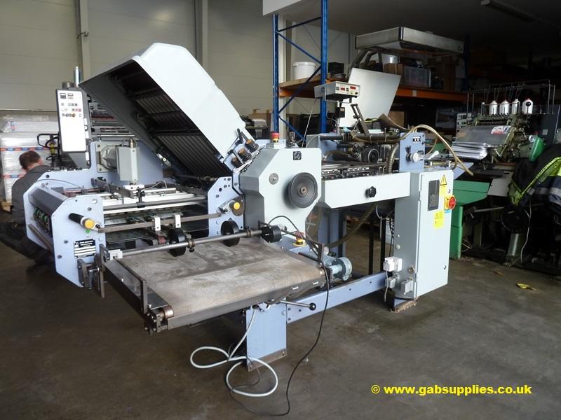 STAHL T 50 4-X PAPER FOLDER