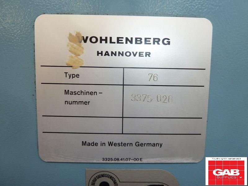Wohlenberg 76 SPM paper cutter