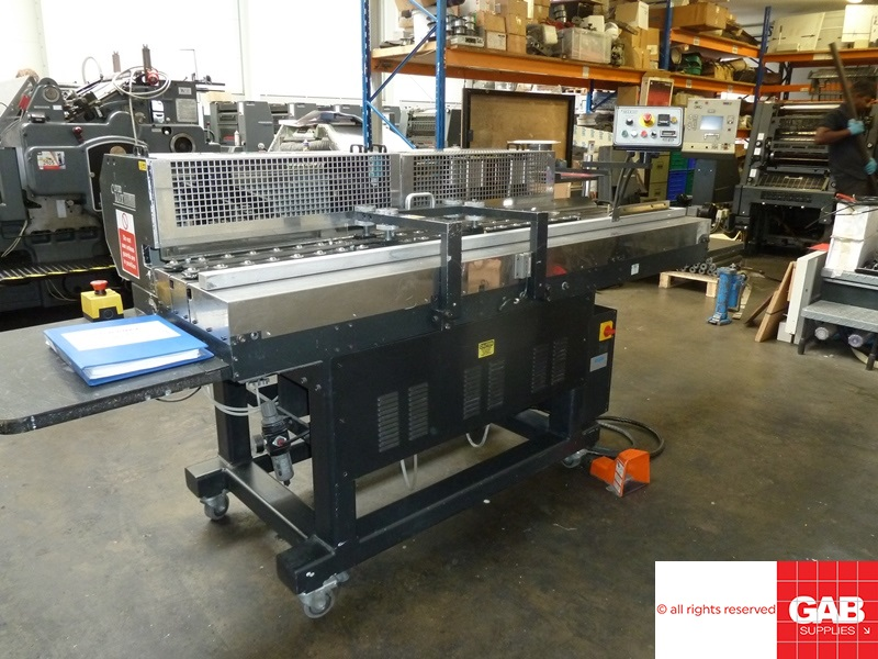 BRACKETT COVERMAX CA-100 COVER ATTACHING MACHINE