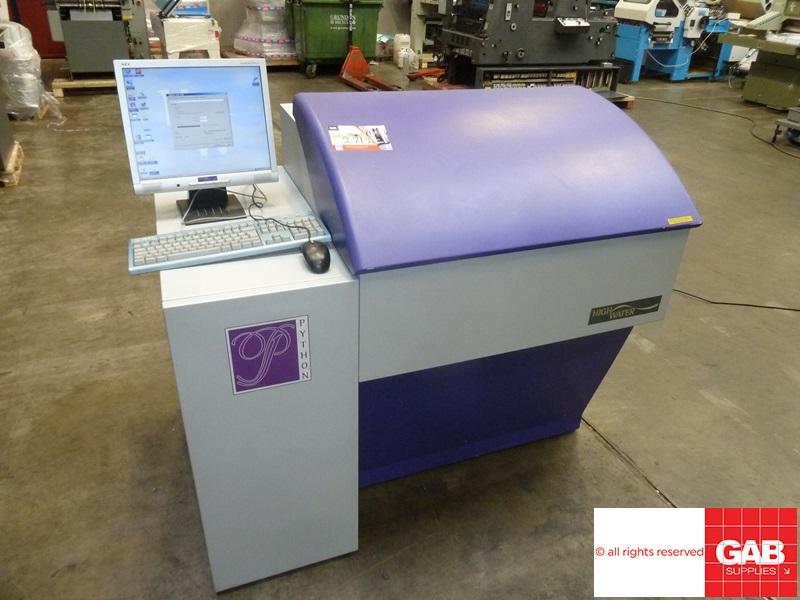 highwater python 74 violet ctp system