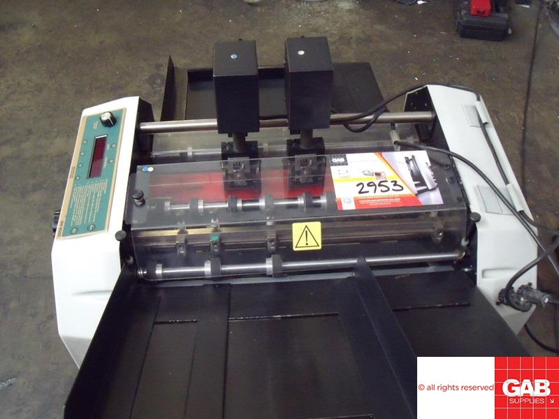 GRAPHIC WIZARD GW6000 NUMBERING & PERFORATING MACHINE