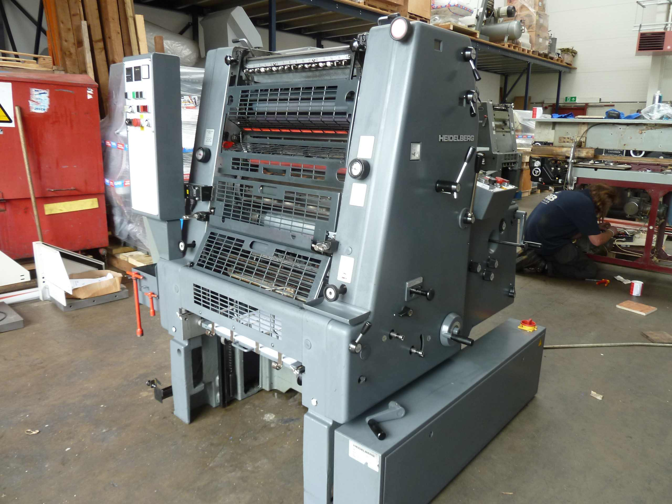 Heidelberg single colour offset