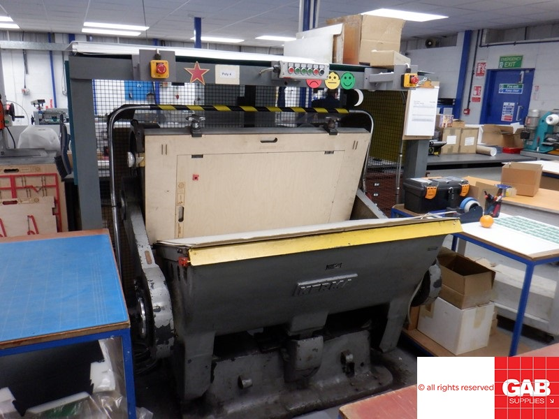 [name_1] kerma hand fed platen press for sale - used die cutting machine