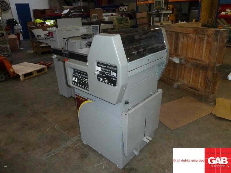 morgana fsn rotary numbering & perforating machine