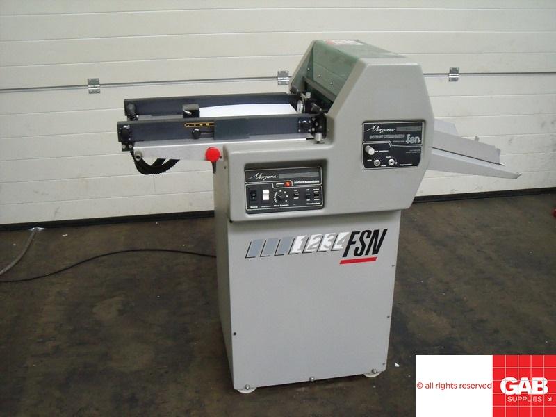 morgana fsn rotary numbering and perforating machine