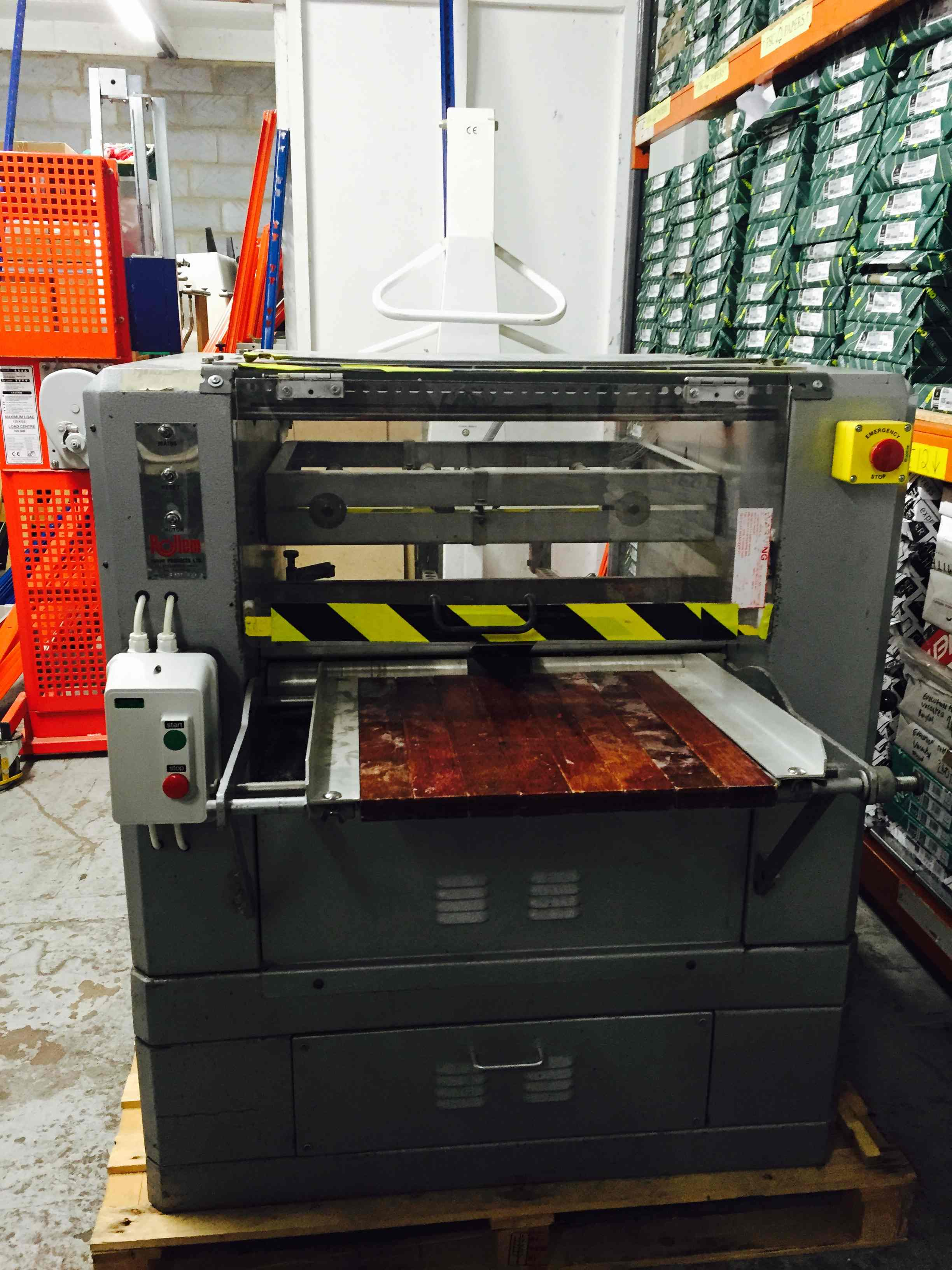 USED ROLLEM AUTO IV NUMBERING & PERFORATING MACHINE