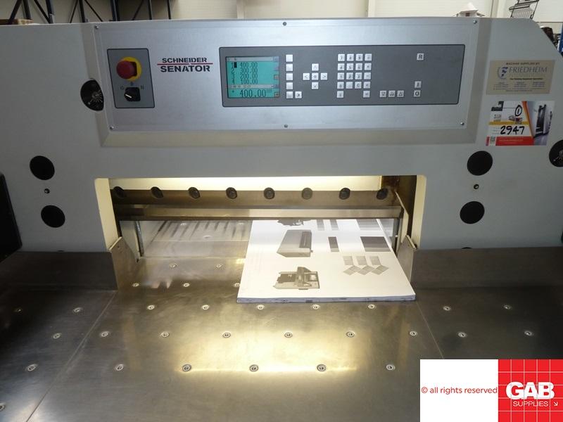 schneider 78 e-line high speed paper guillotine